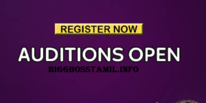 bigg boss tamil registration