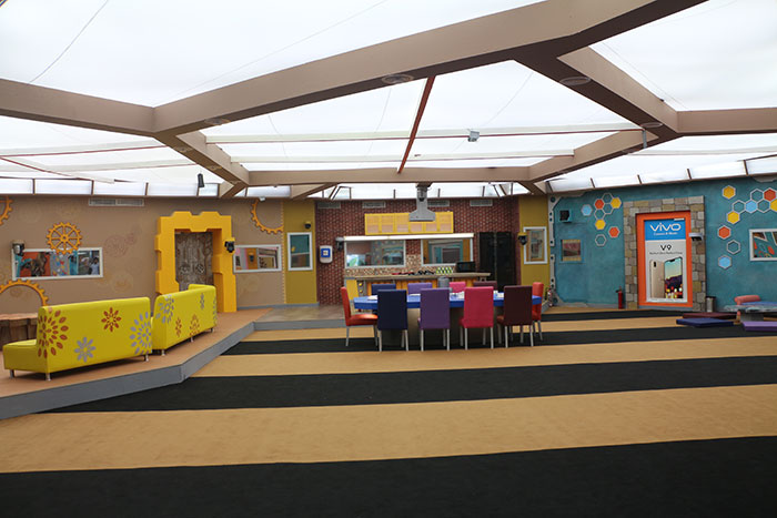 bigg boss tamil dining hall
